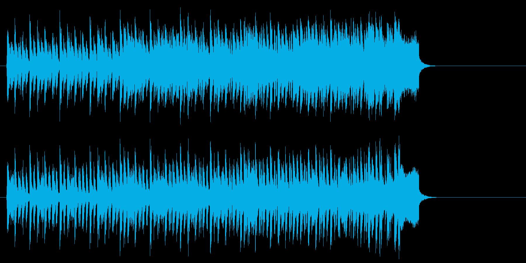 力強い歌謡曲風ポップス(イントロ~エ…)の再生済みの波形