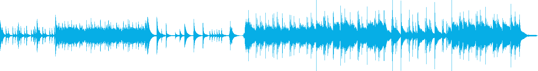 透明感 ピアノ [ 庭園 ]の再生済みの波形