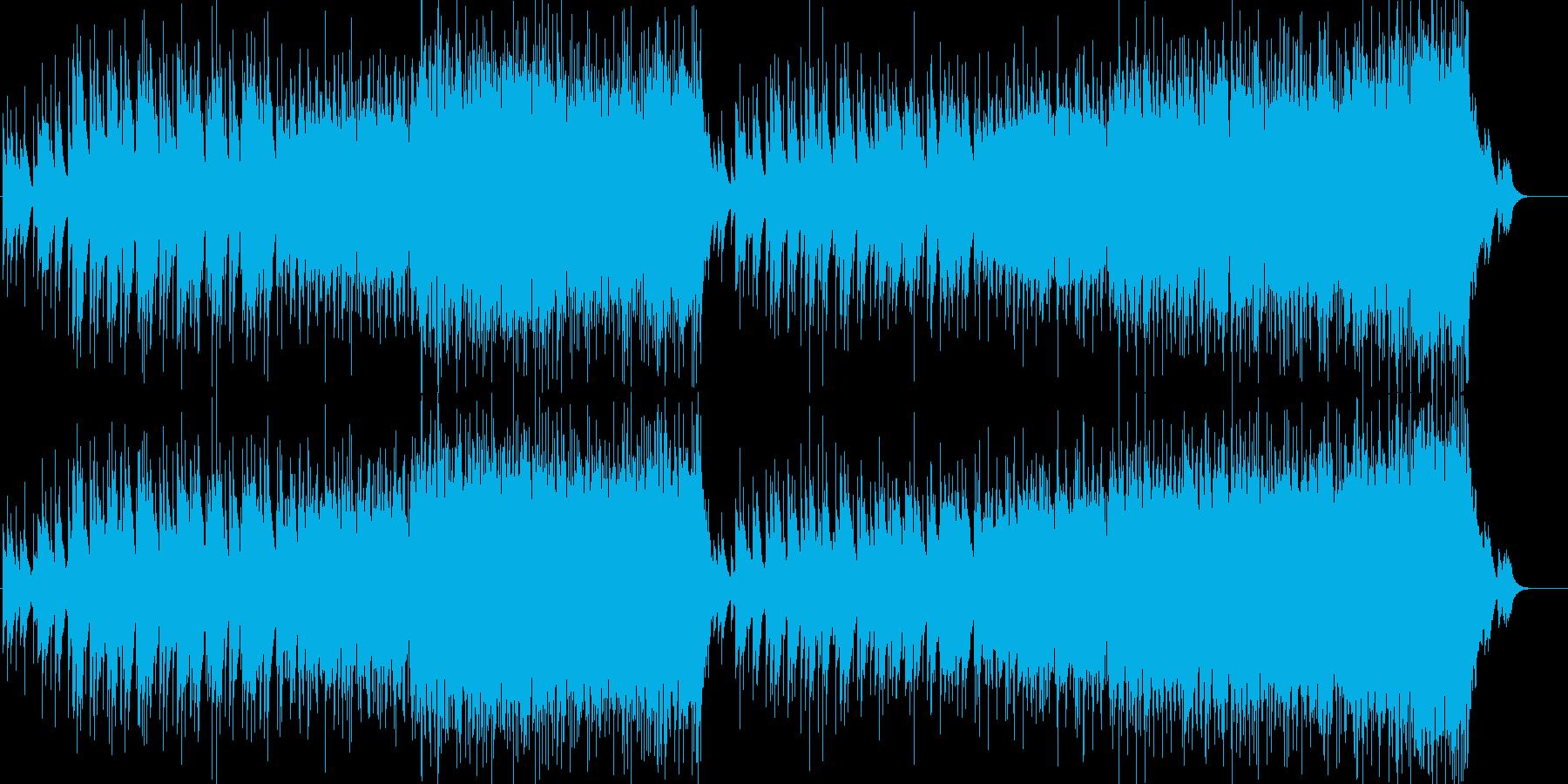 心に染みるアダルト・コンテンポラリーBGの再生済みの波形