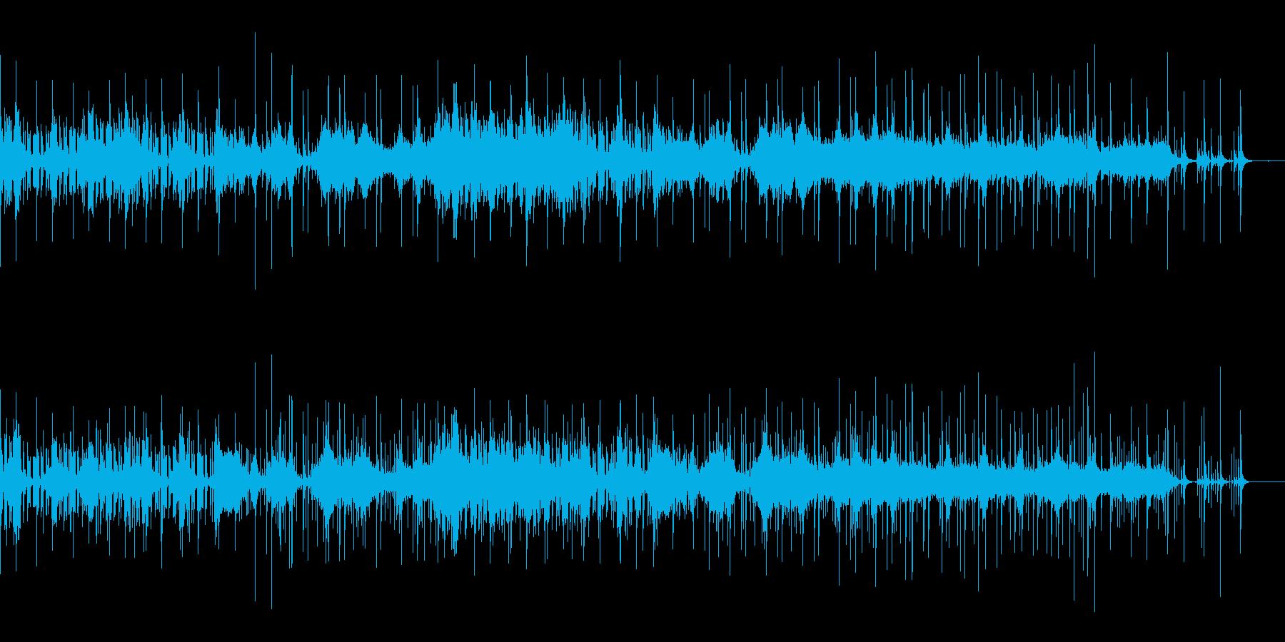 アラビア風シネマティックトレーラーの再生済みの波形