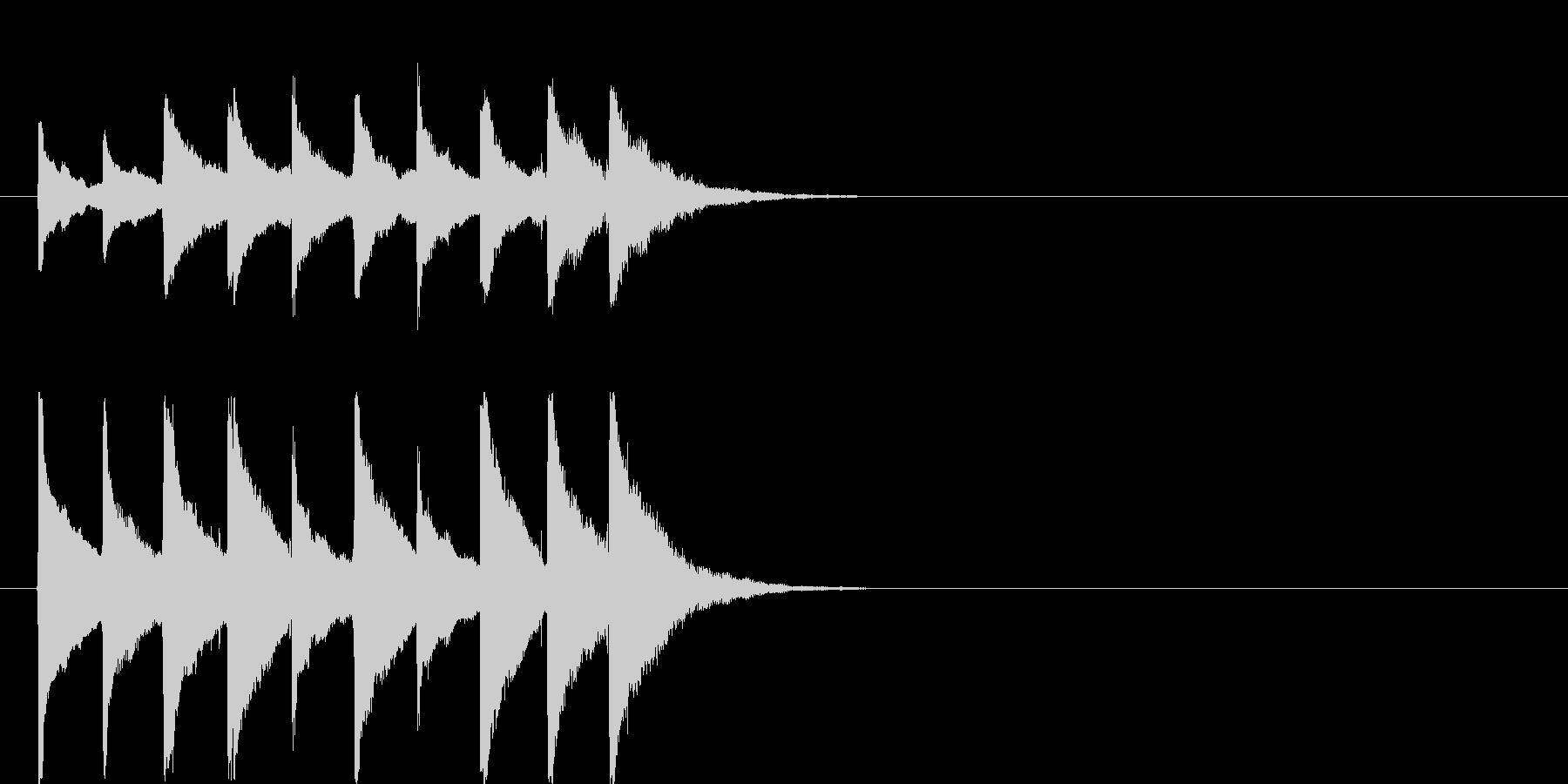 ジングル用途に制作しました。24bit…の未再生の波形