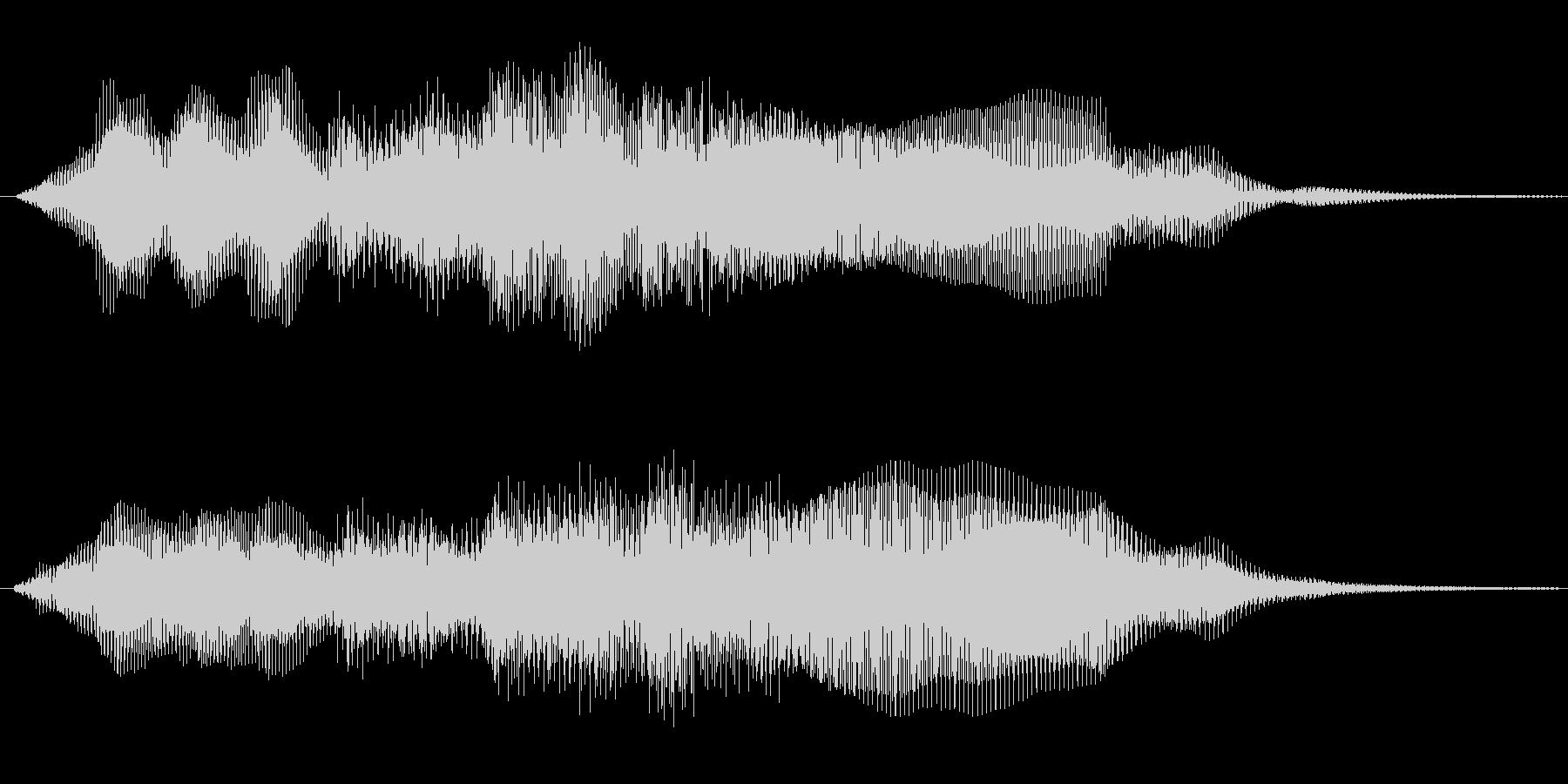 ホルン等を使った穏やかな感じですの未再生の波形