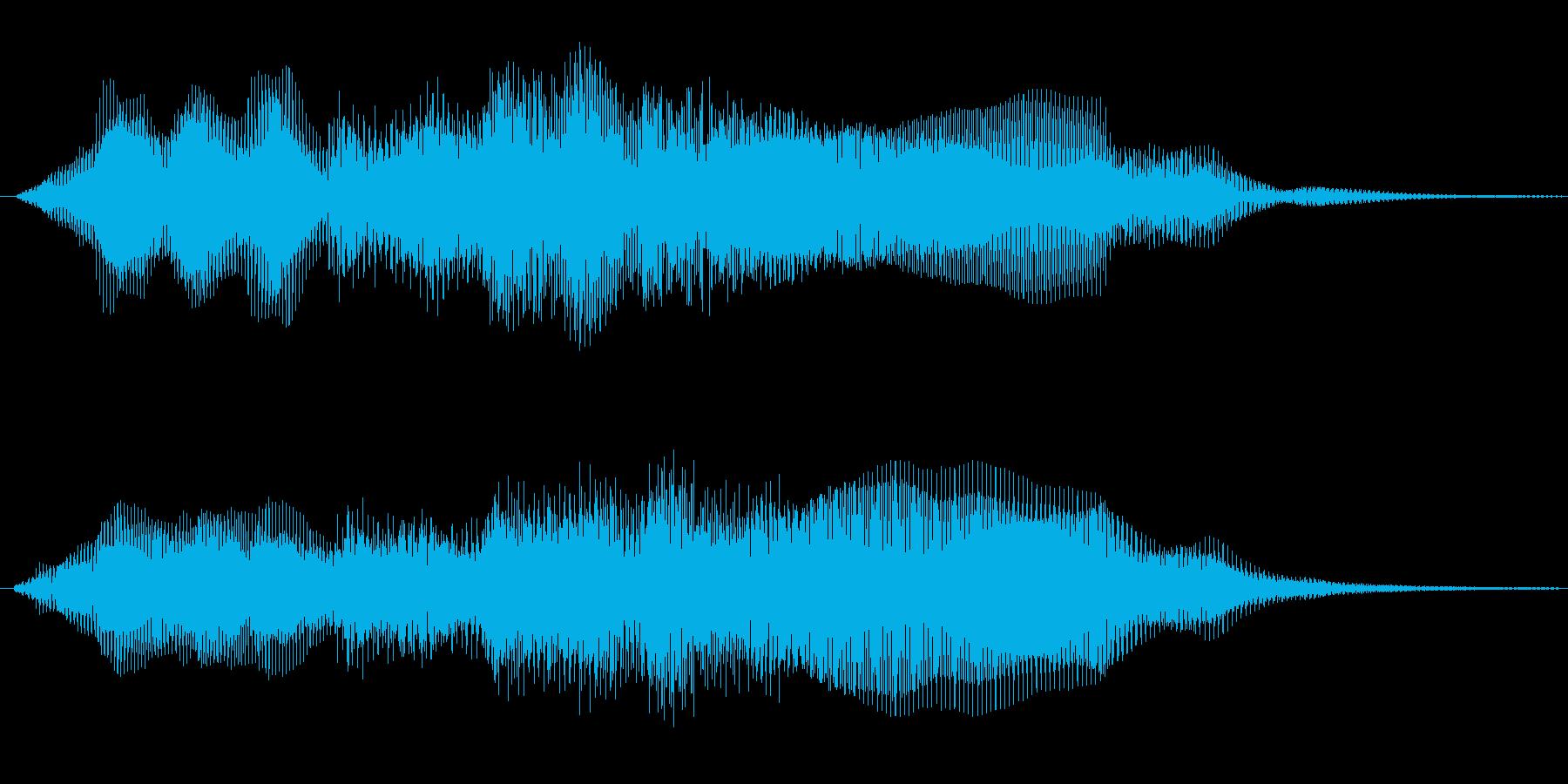 ホルン等を使った穏やかな感じですの再生済みの波形