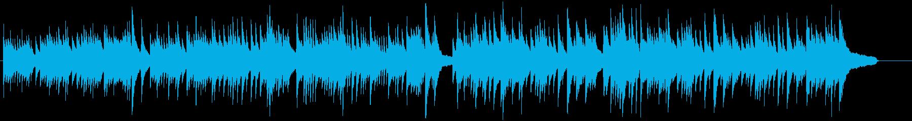 感動のエンディングを迎える春のピアノソロの再生済みの波形