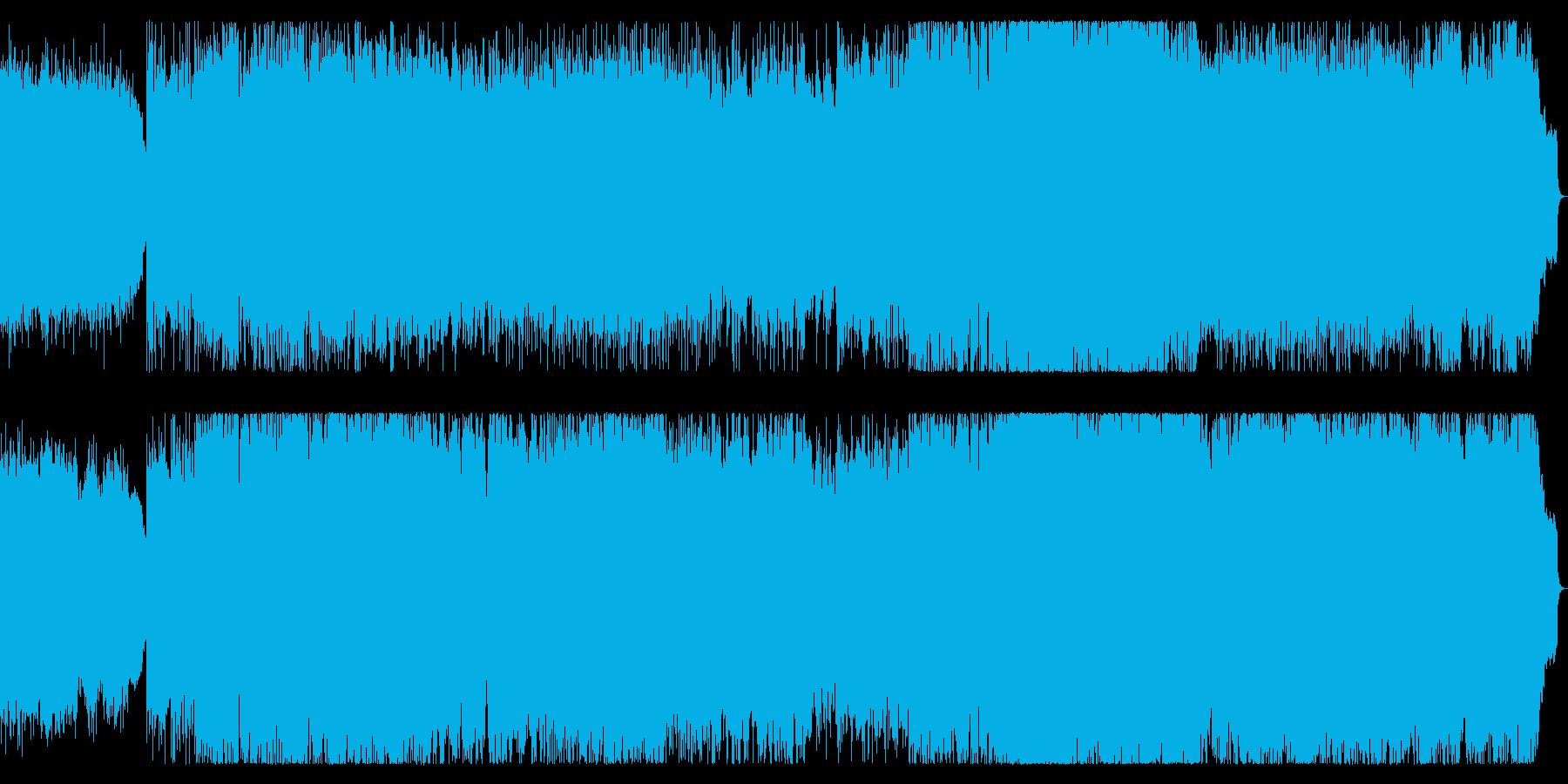 ダークで勇壮 哀愁感のあるスローなメタルの再生済みの波形