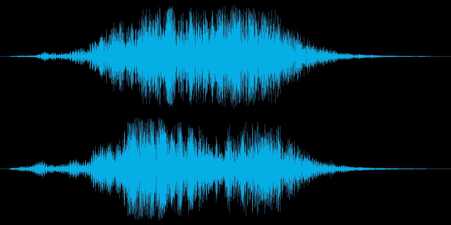 ファーウォーン(広がりのある神秘的な音)の再生済みの波形