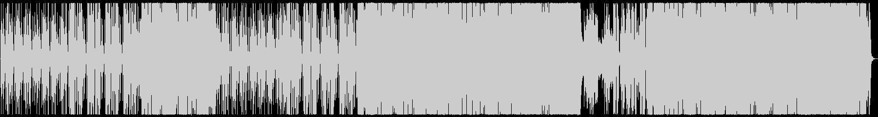 センチメンタルなギターポップの未再生の波形
