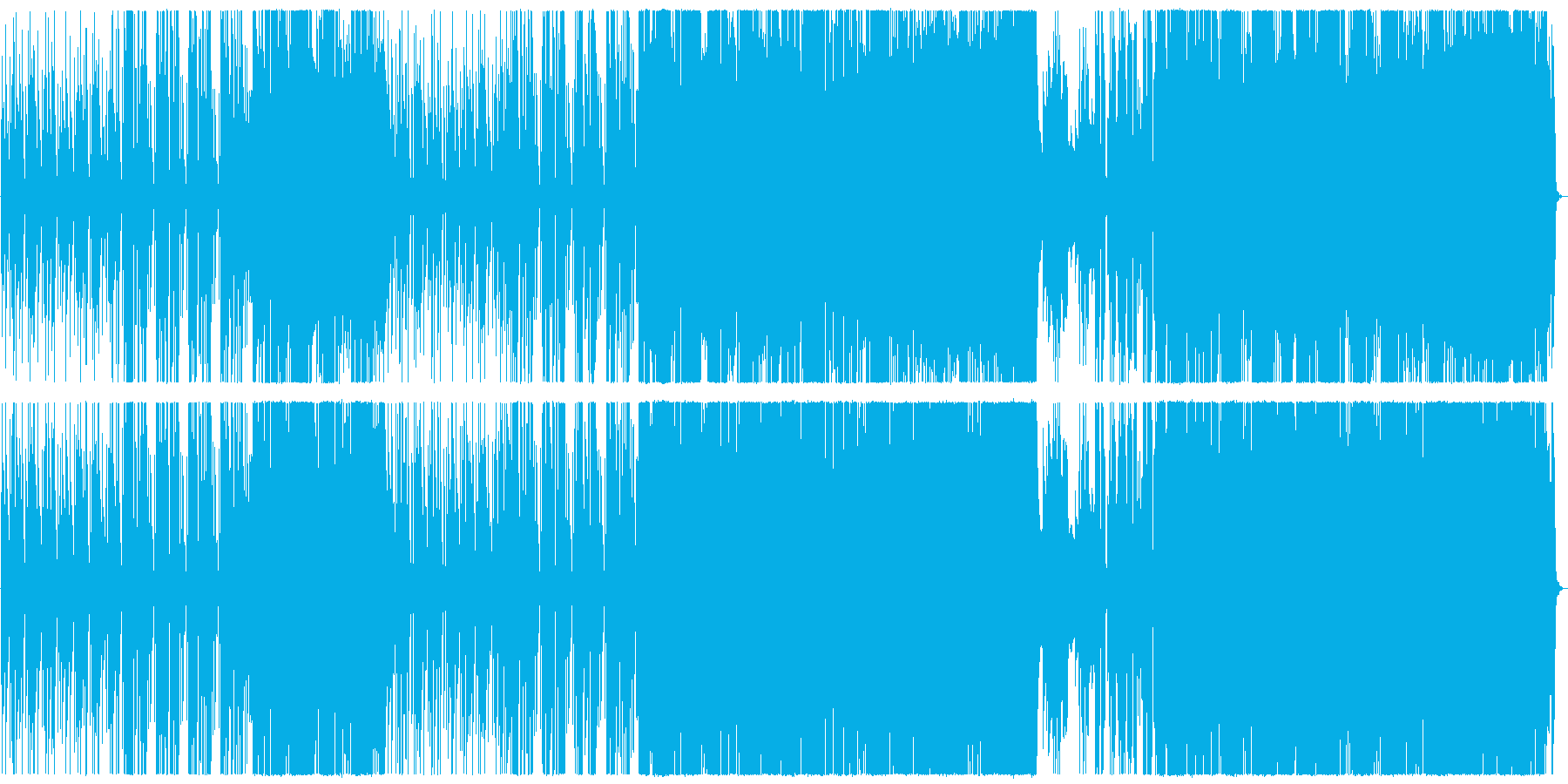 センチメンタルなギターポップの再生済みの波形