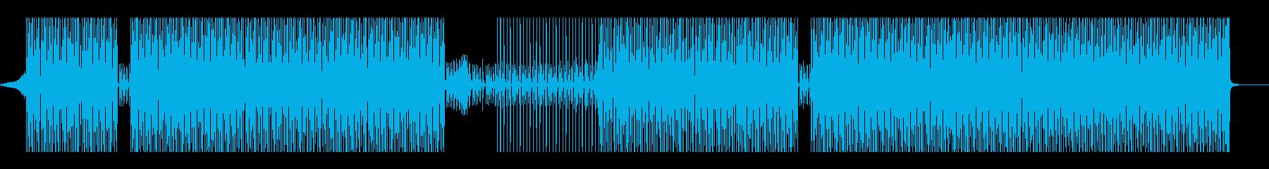 おしゃれでかっこいいハウスグルーヴの再生済みの波形