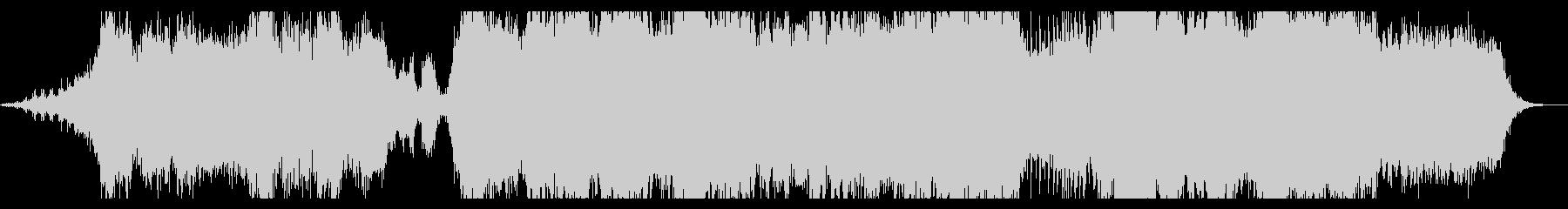 ダークファンタジーなオーケストラBGMの未再生の波形
