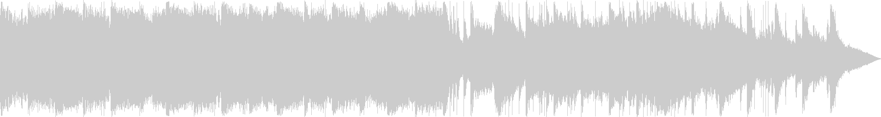 和楽器によるゆったりとした日本風BGMの未再生の波形