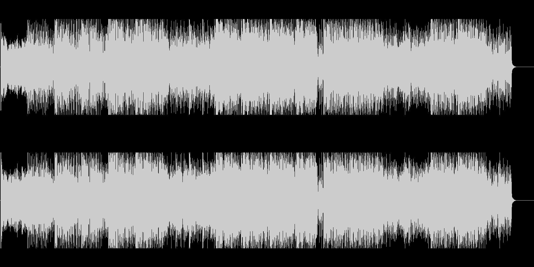 不安な夜を演出するサスペンス向けBGMの未再生の波形