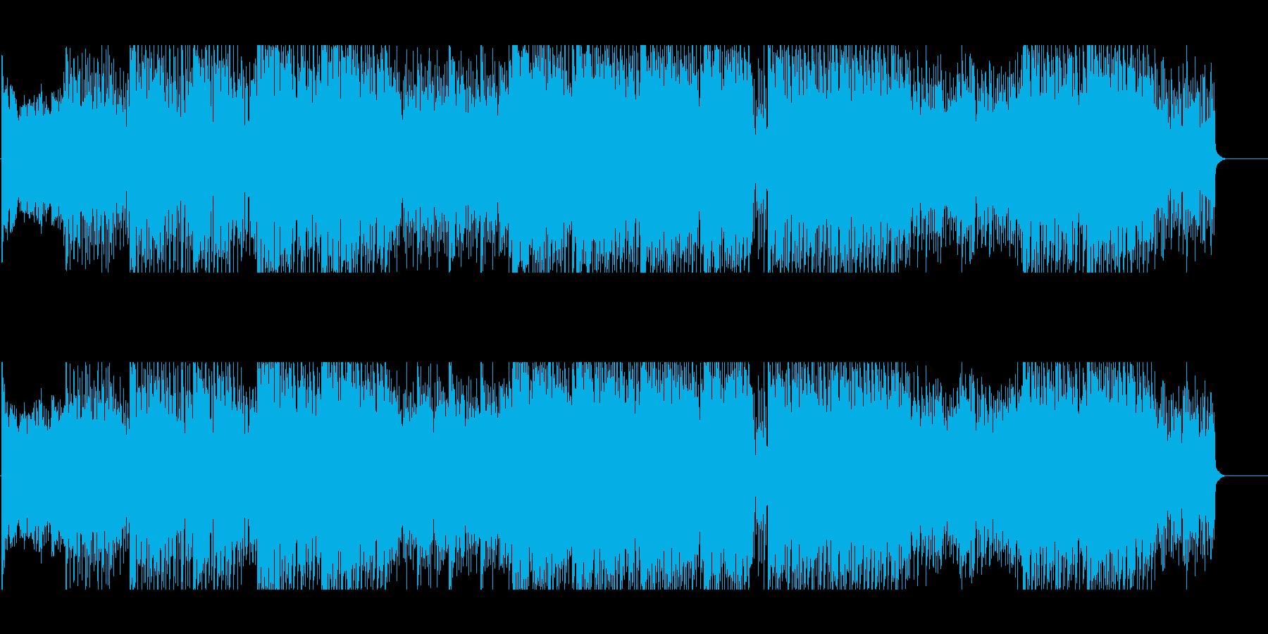 不安な夜を演出するサスペンス向けBGMの再生済みの波形