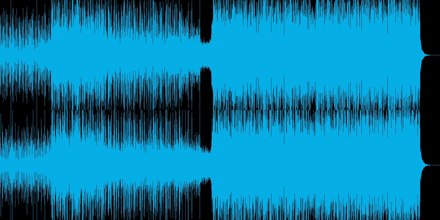 作戦会議の様な雰囲気のあるデジタル曲の再生済みの波形
