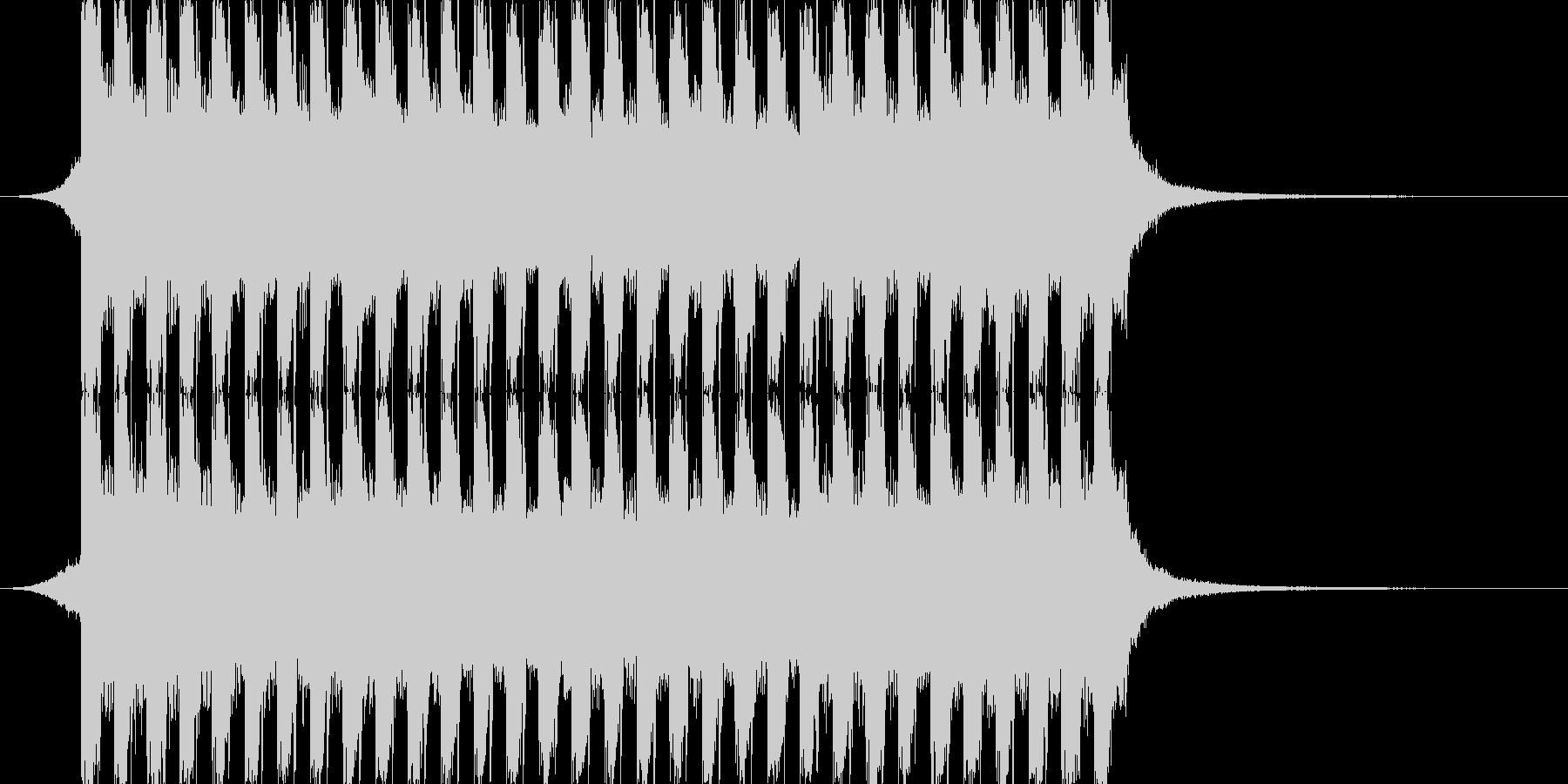 洋楽感のある夏らしいトロピカルハウス2の未再生の波形