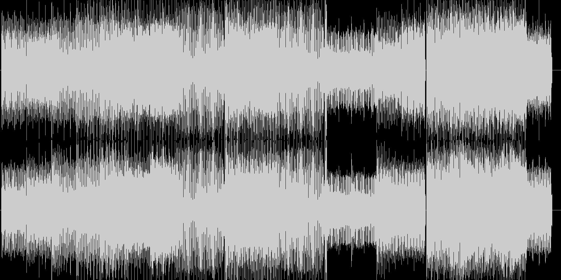 コミカル&スタイリッシュミュージックの未再生の波形