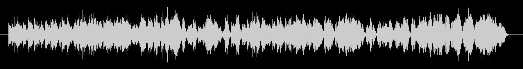 オルゴール系楽曲。若干マイナー色が強く…の未再生の波形