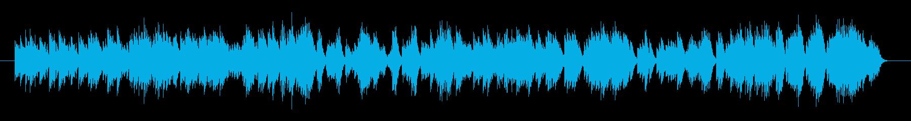オルゴール系楽曲。若干マイナー色が強く…の再生済みの波形