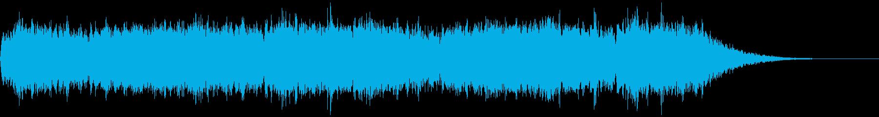 深い闇 ホラーアンビエントの再生済みの波形
