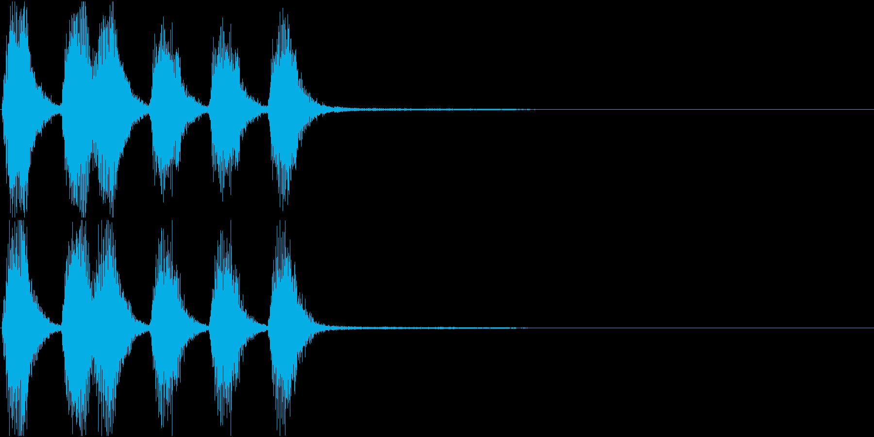 トランペット ファンファーレ 定番 16の再生済みの波形