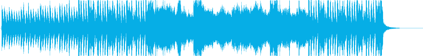 キャンパスをイメージしたBGMの再生済みの波形