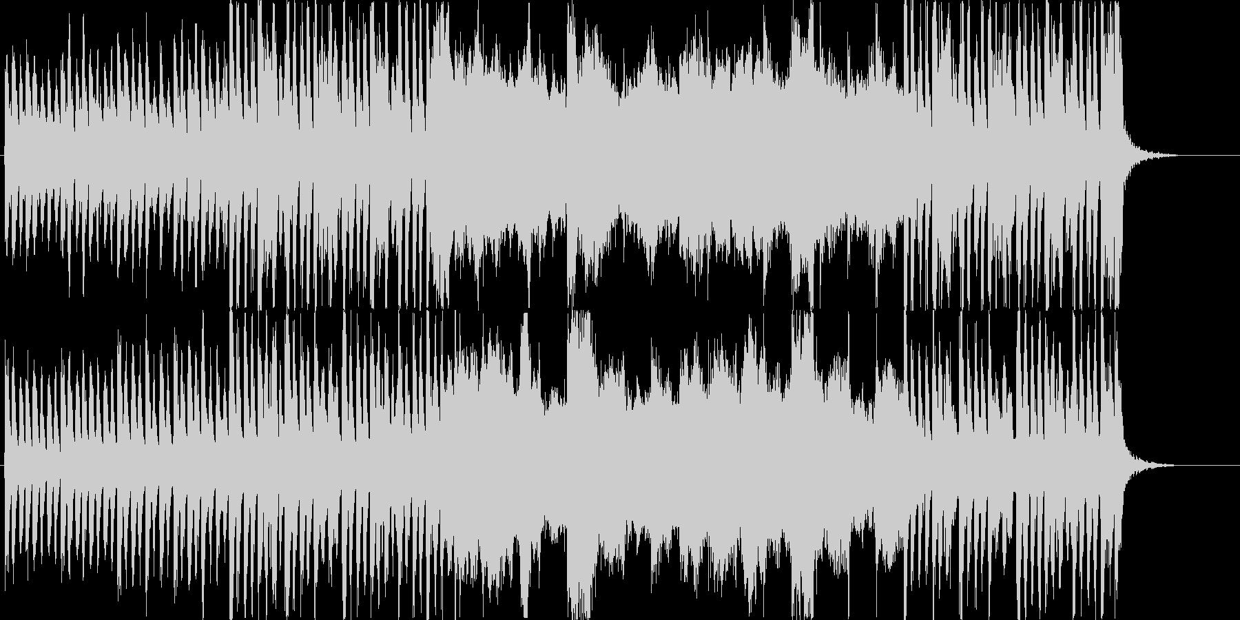 キャンパスをイメージしたBGMの未再生の波形