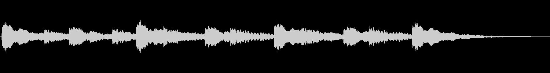 半音階(混乱・困惑・考え中)の未再生の波形