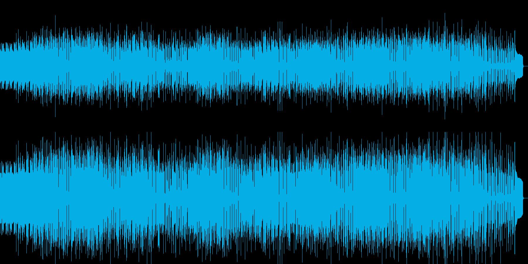 探偵のテーマをイメージした曲の再生済みの波形