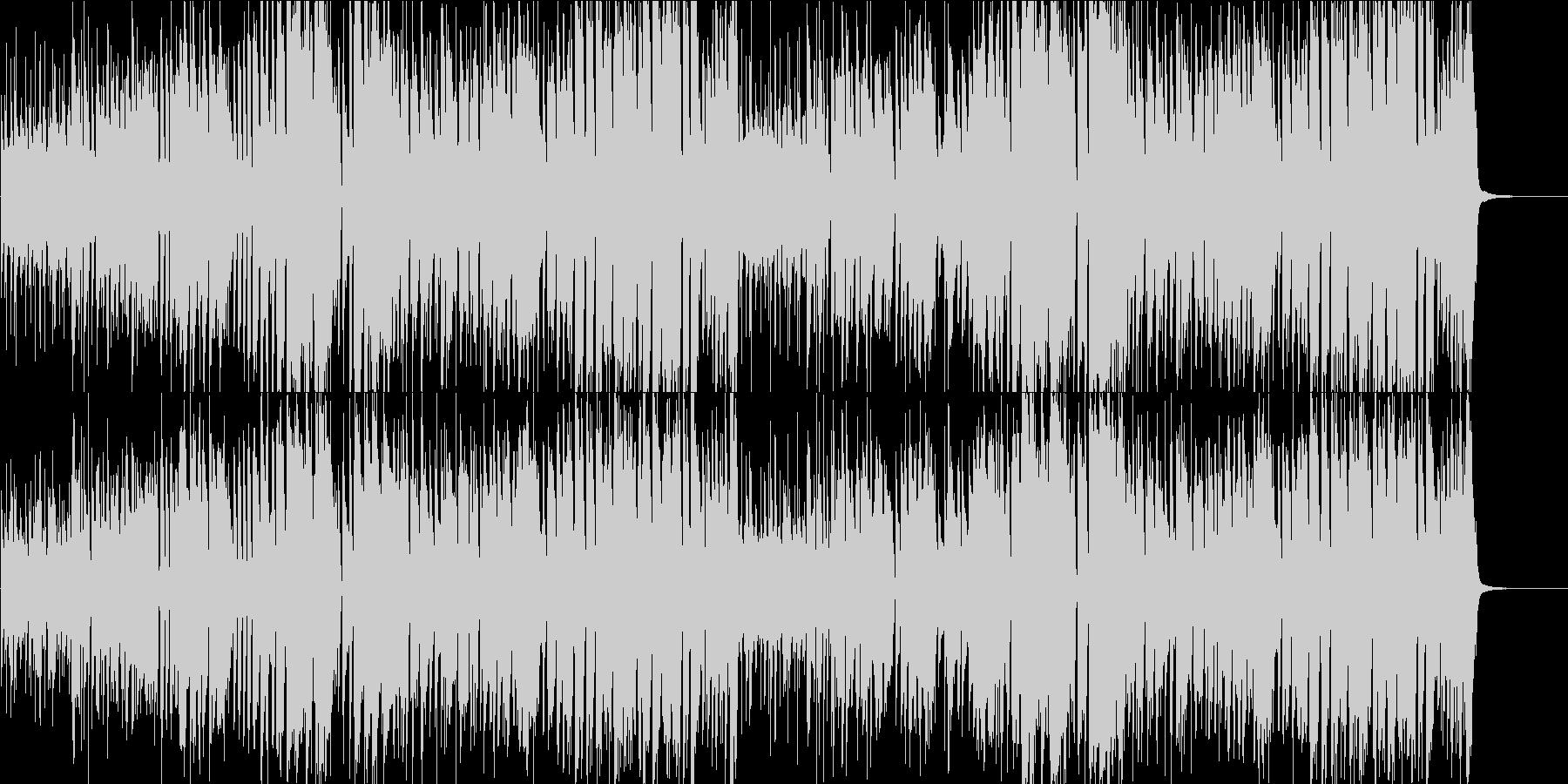 映像BGM ブルーノート系ブラスのジャズの未再生の波形