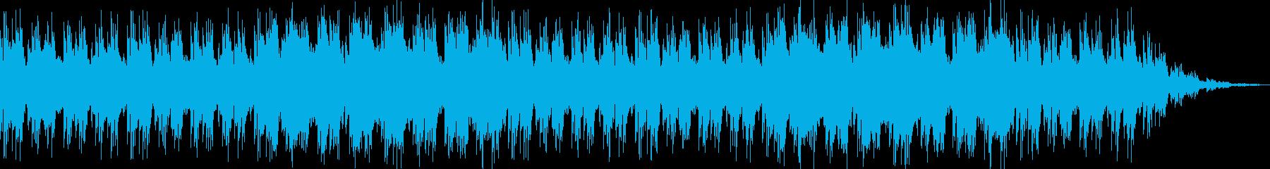 RPGワールドマップ画面風の曲の再生済みの波形