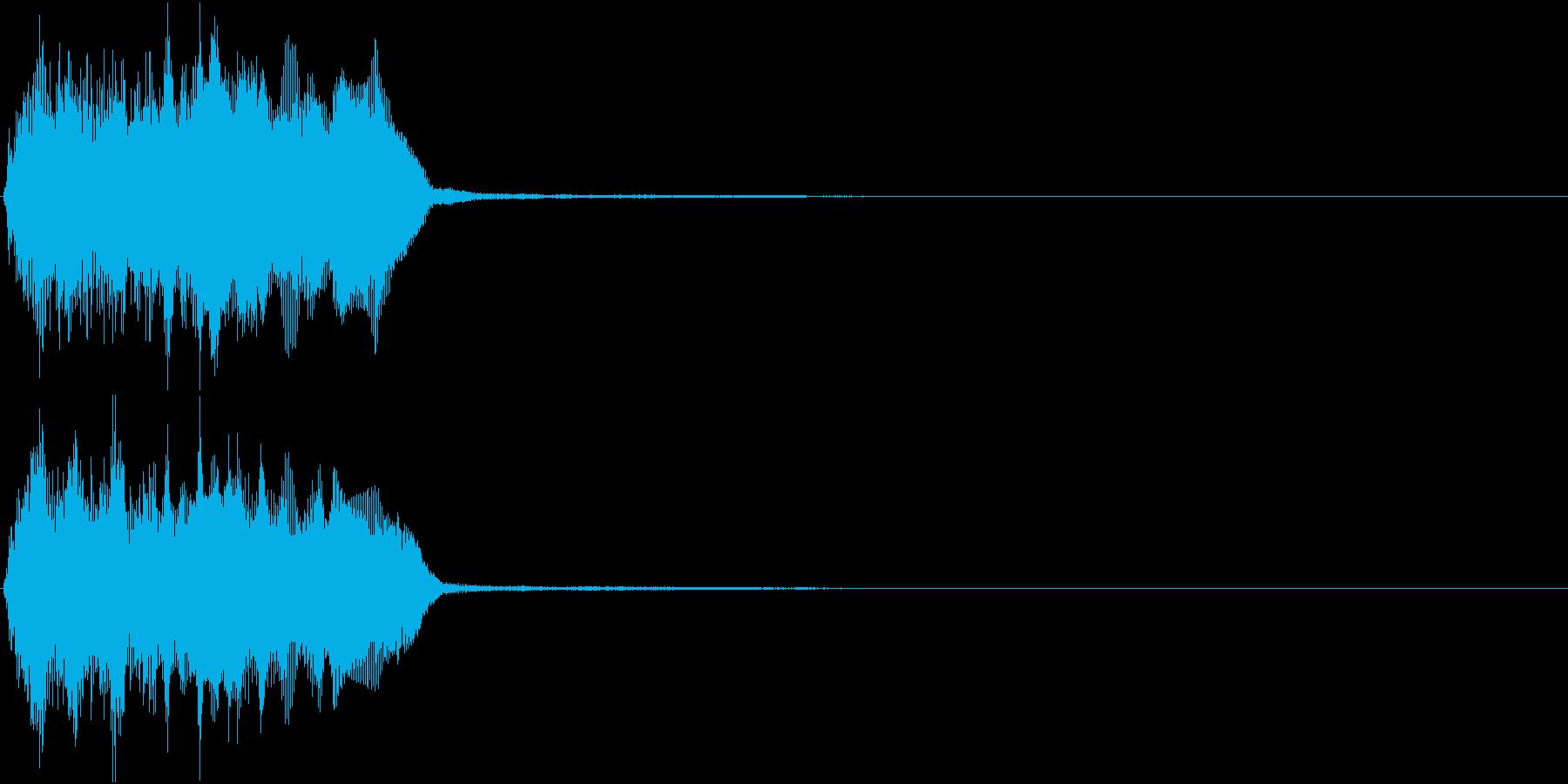 トランペット ファンファーレ 定番 20の再生済みの波形
