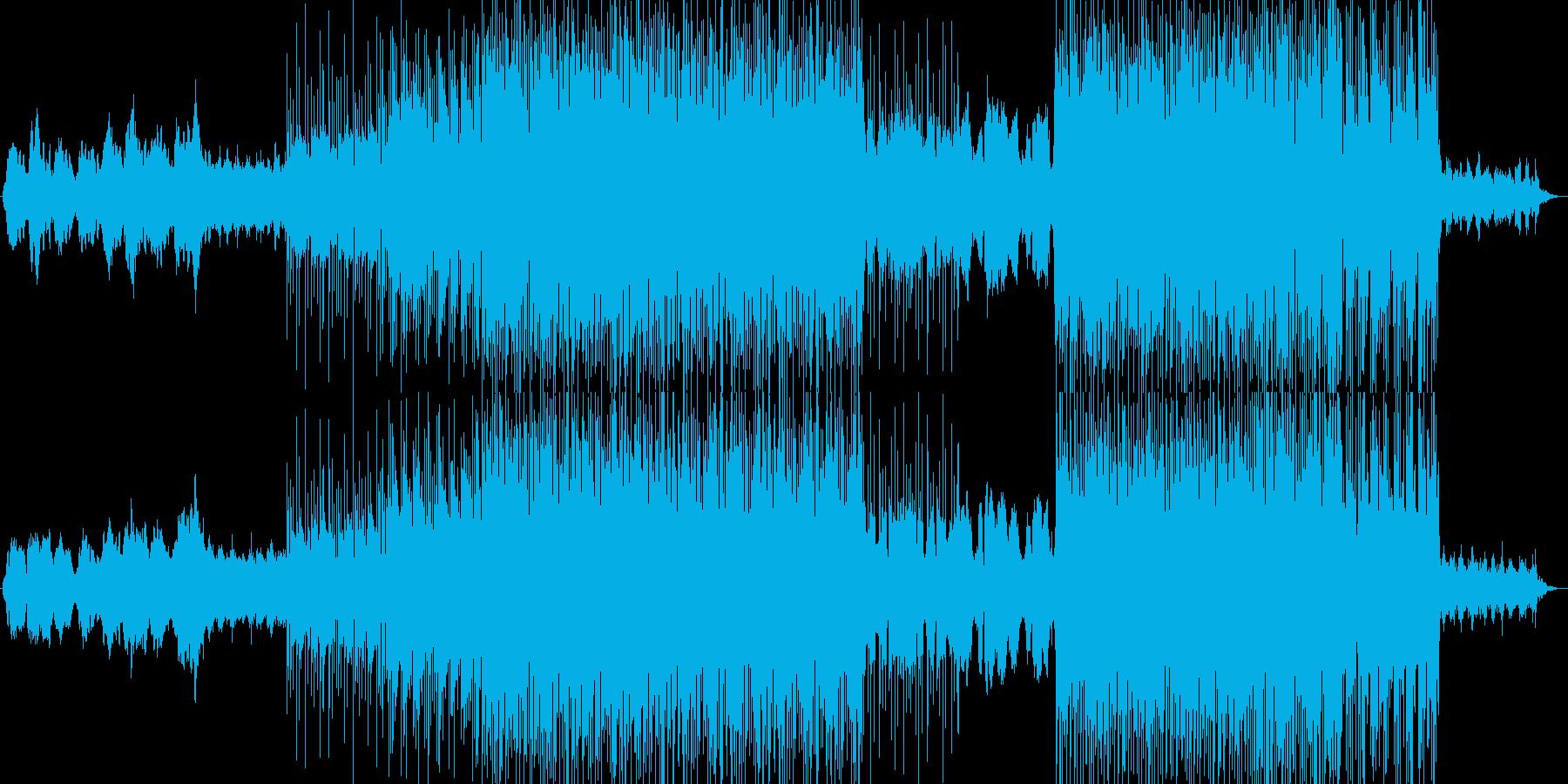 幻想的な雰囲気のチル系エレクトロニカの再生済みの波形