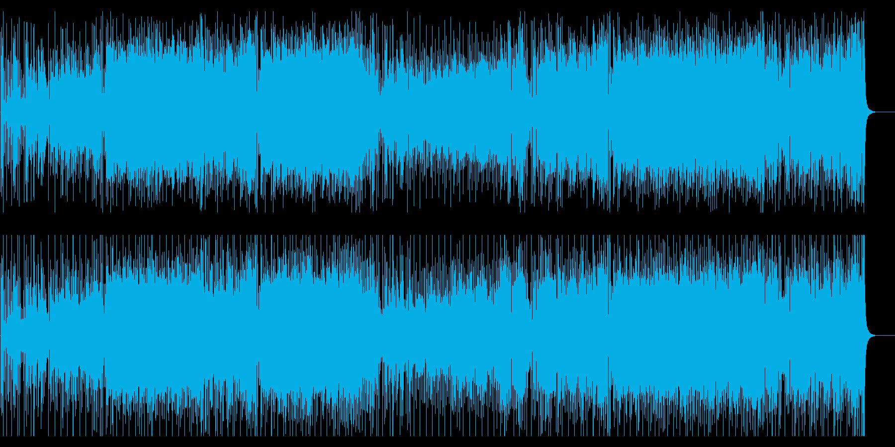前進 躍動 軽快 海 情報 報道の再生済みの波形