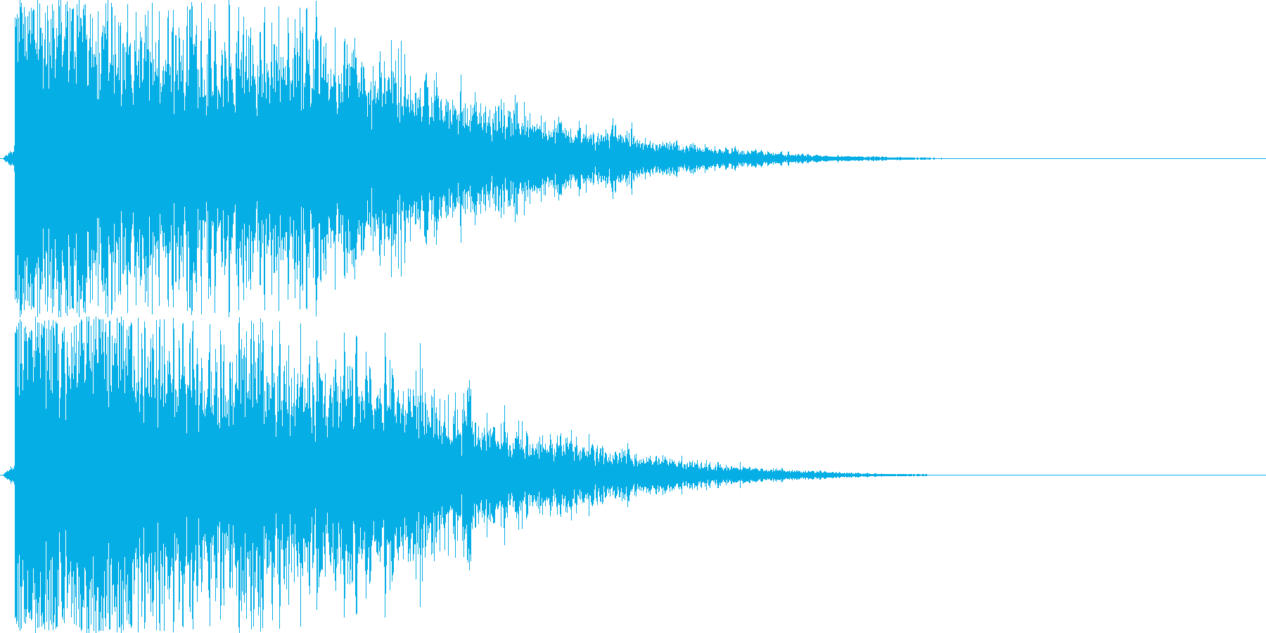 バヒューン(シューティング、ミサイル)の再生済みの波形