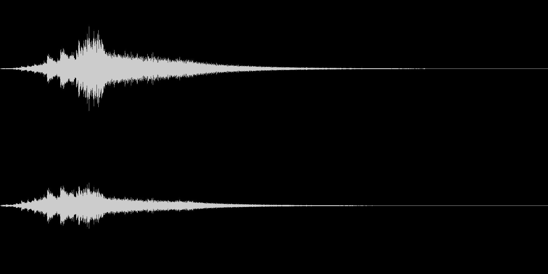 しゃららららららら ウィンドチャイムの…の未再生の波形
