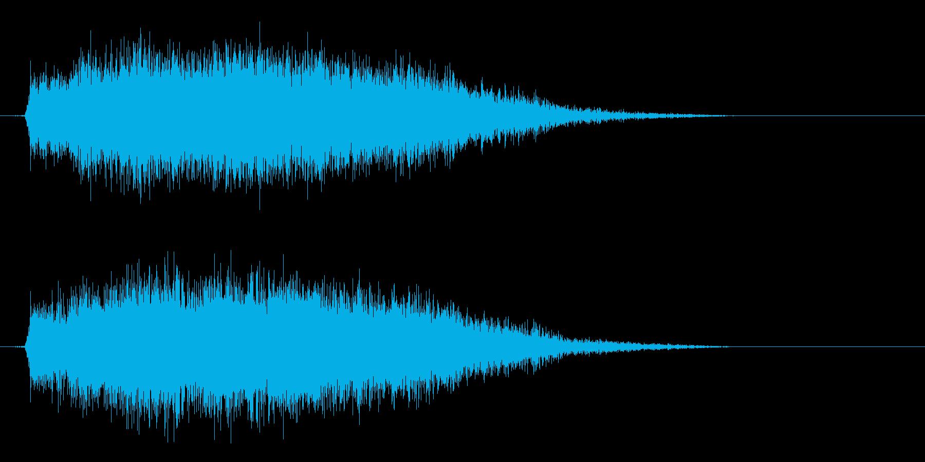 竜/ドラゴン/モンスターの鳴き声!01の再生済みの波形