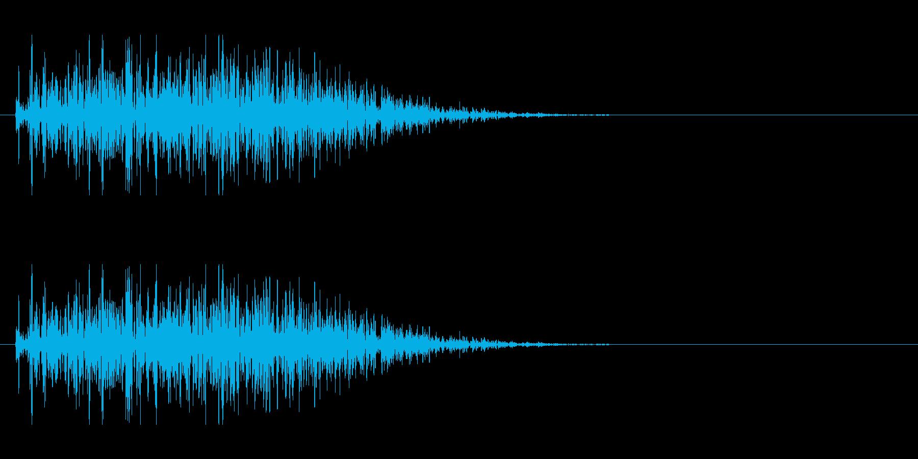 チープな破壊、爆発の再生済みの波形