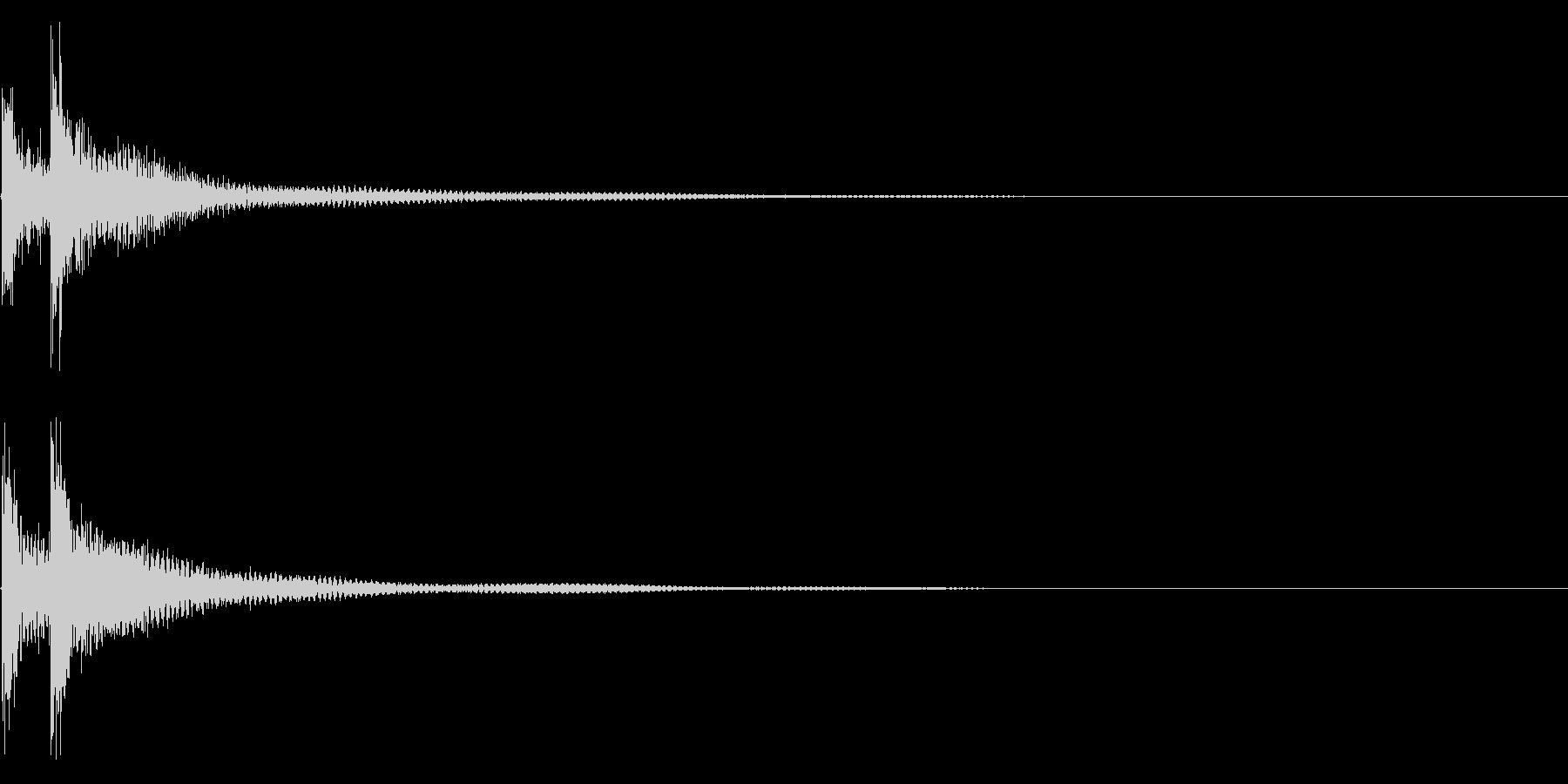 ティンパニー☆ドドン!2の未再生の波形