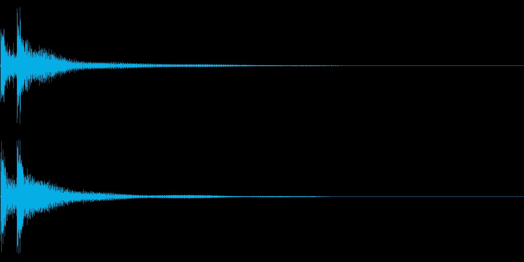 ティンパニー☆ドドン!2の再生済みの波形