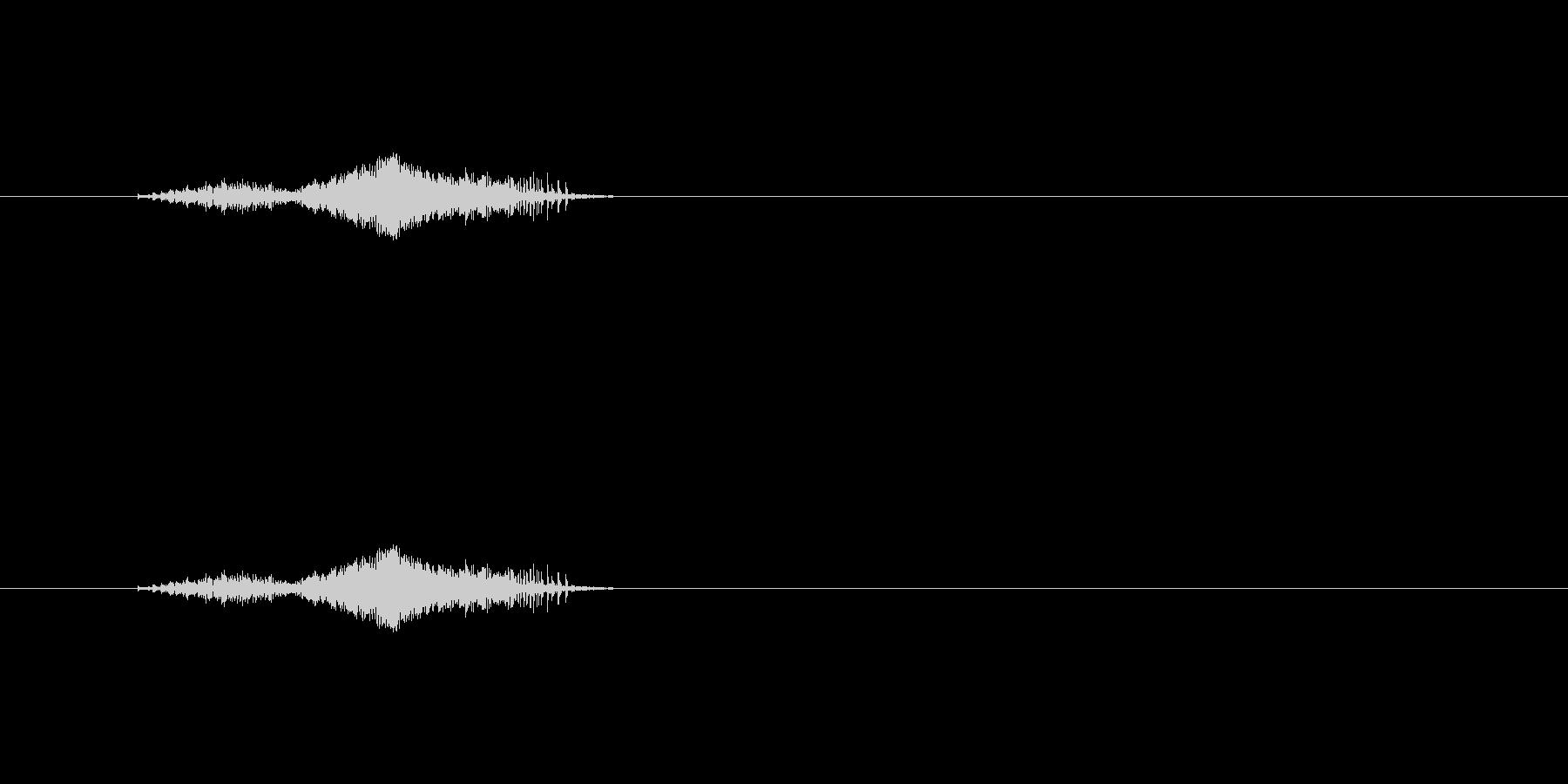 【筆箱02-1(開ける)】の未再生の波形