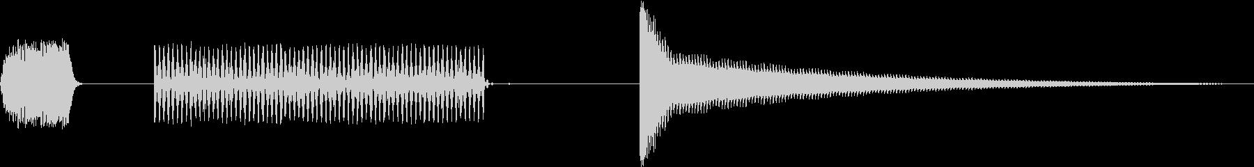 オーブントースターの動作音(8ビット風)の未再生の波形