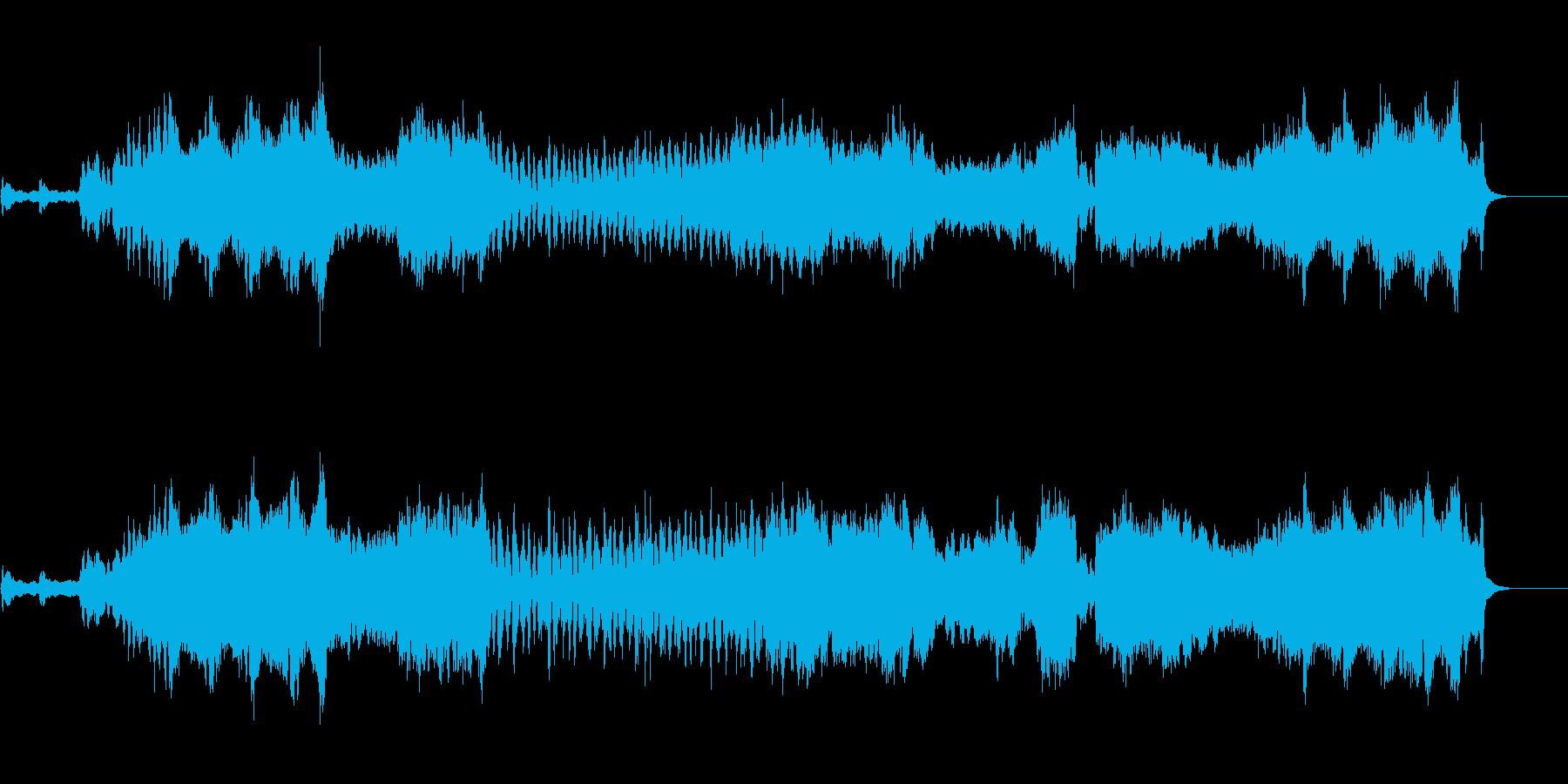 仰々しさが印象的なオーケストラ・サウンドの再生済みの波形