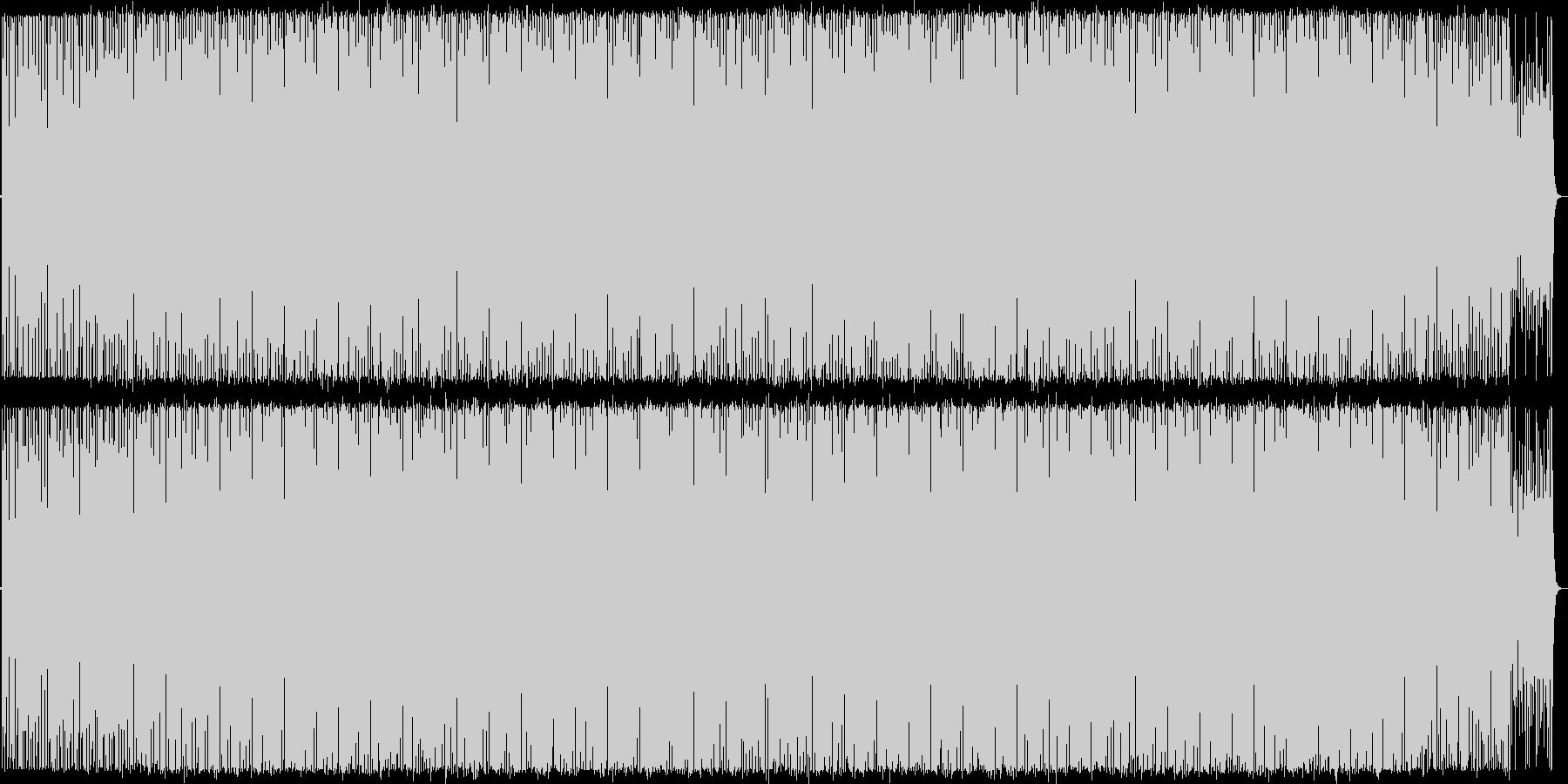 古めのハウス系インスト曲1の未再生の波形