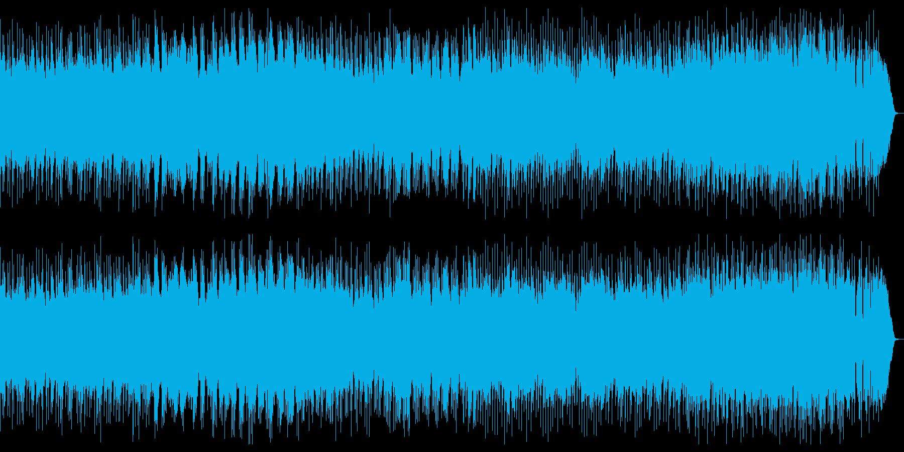 ドラマチックでダークな幻想的ヘビーメタルの再生済みの波形