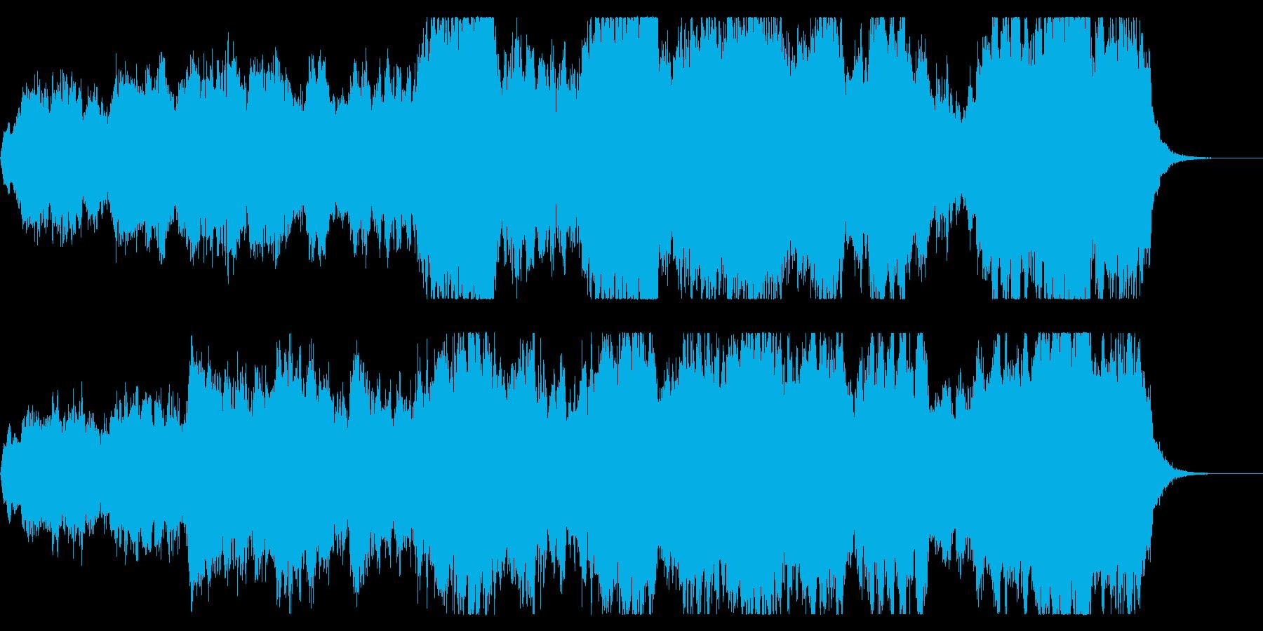 切ないファンタジーなエンディングBGMの再生済みの波形