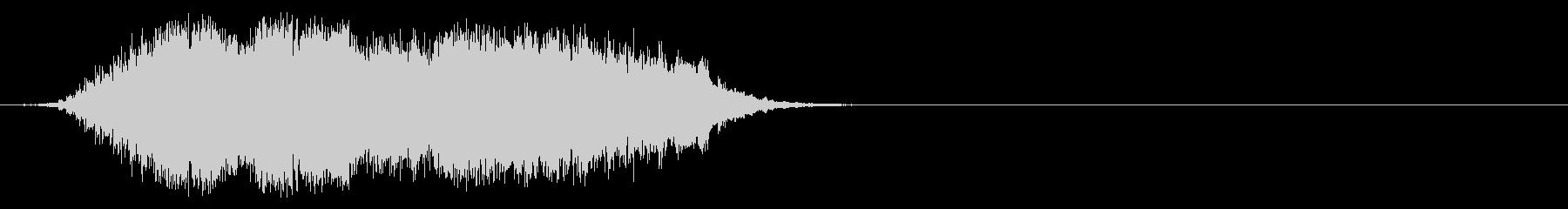 ワールド・ミュージック系ジングルの未再生の波形