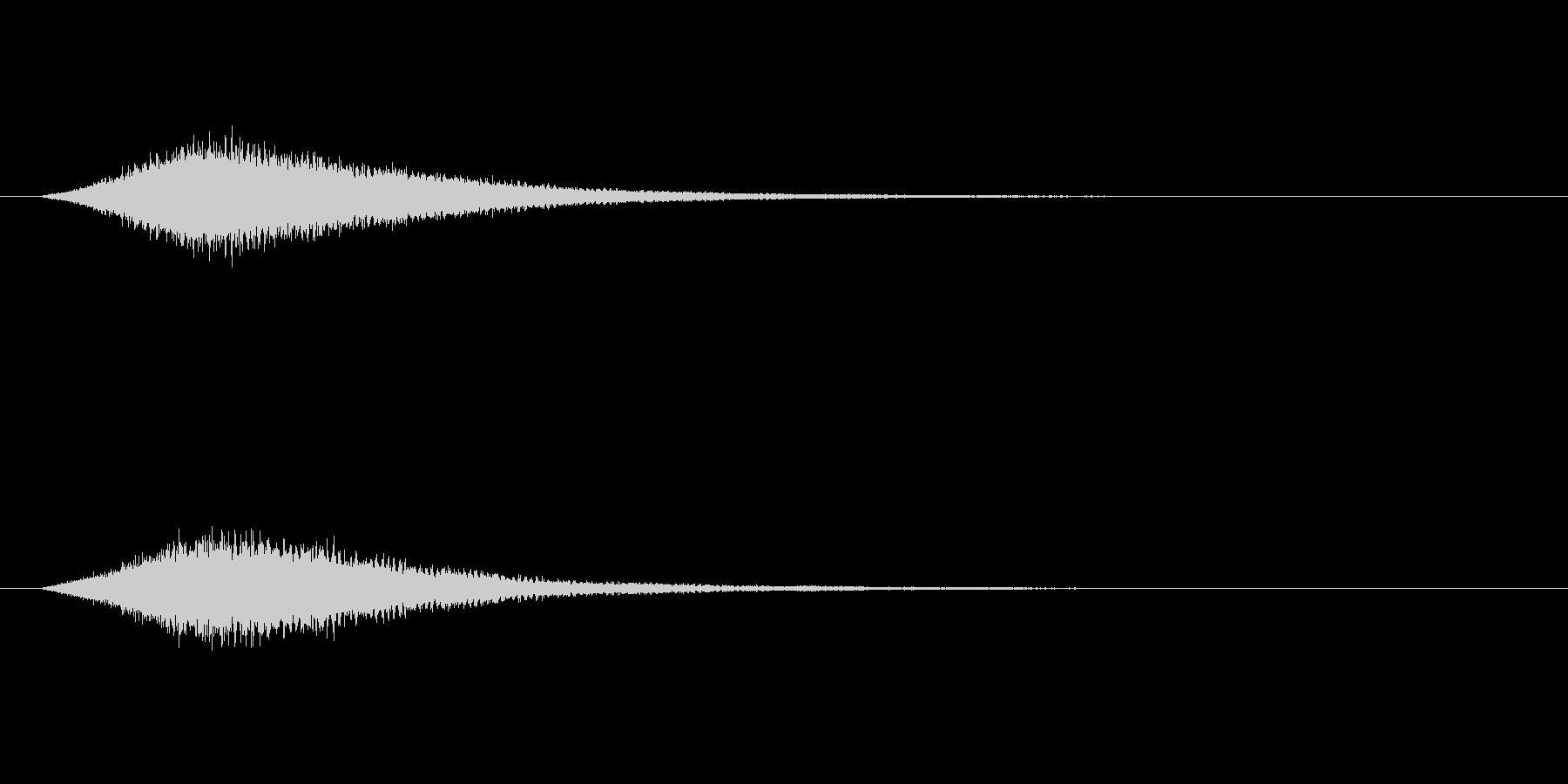 【サイバー08-2】の未再生の波形