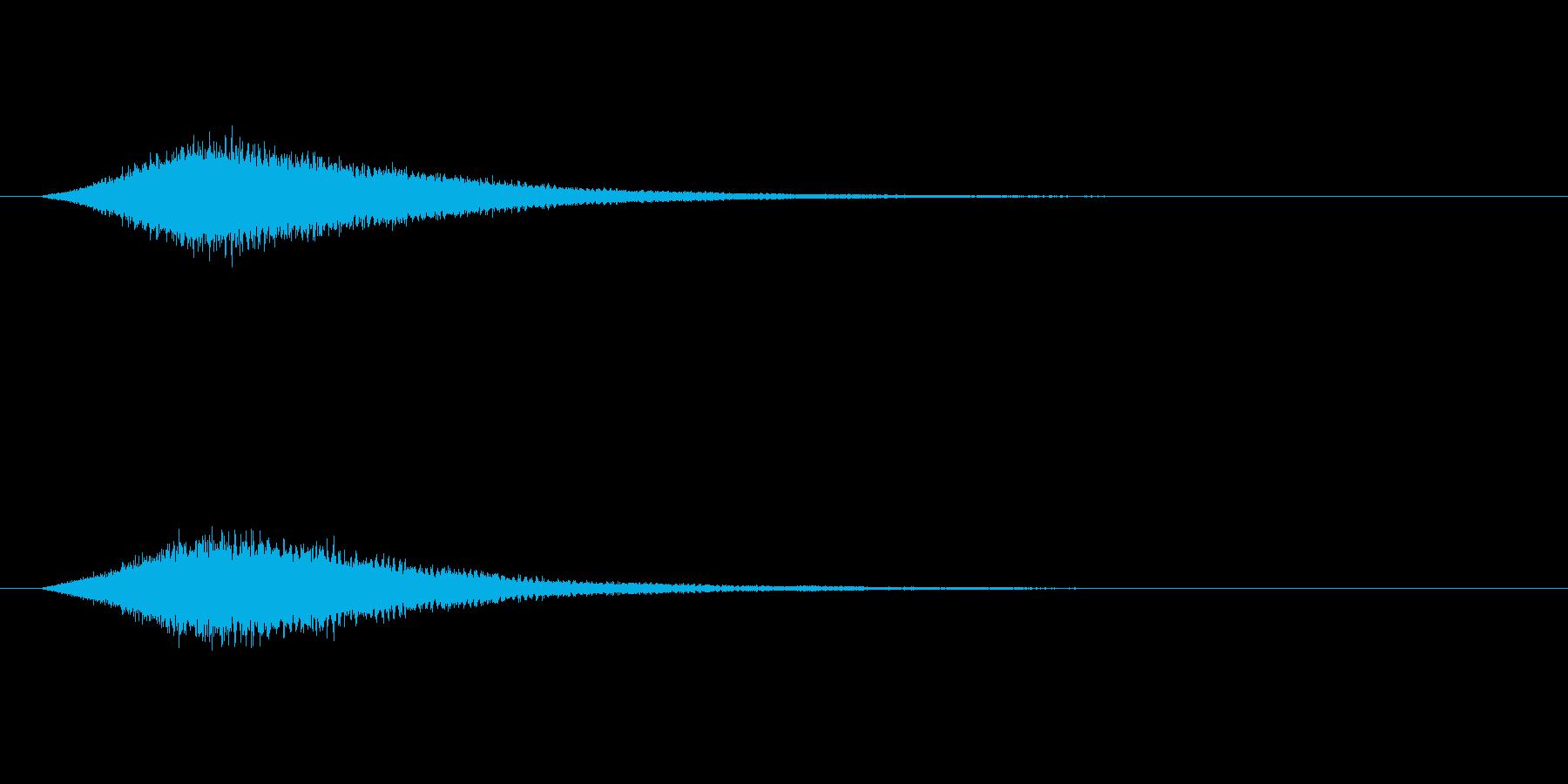 【サイバー08-2】の再生済みの波形