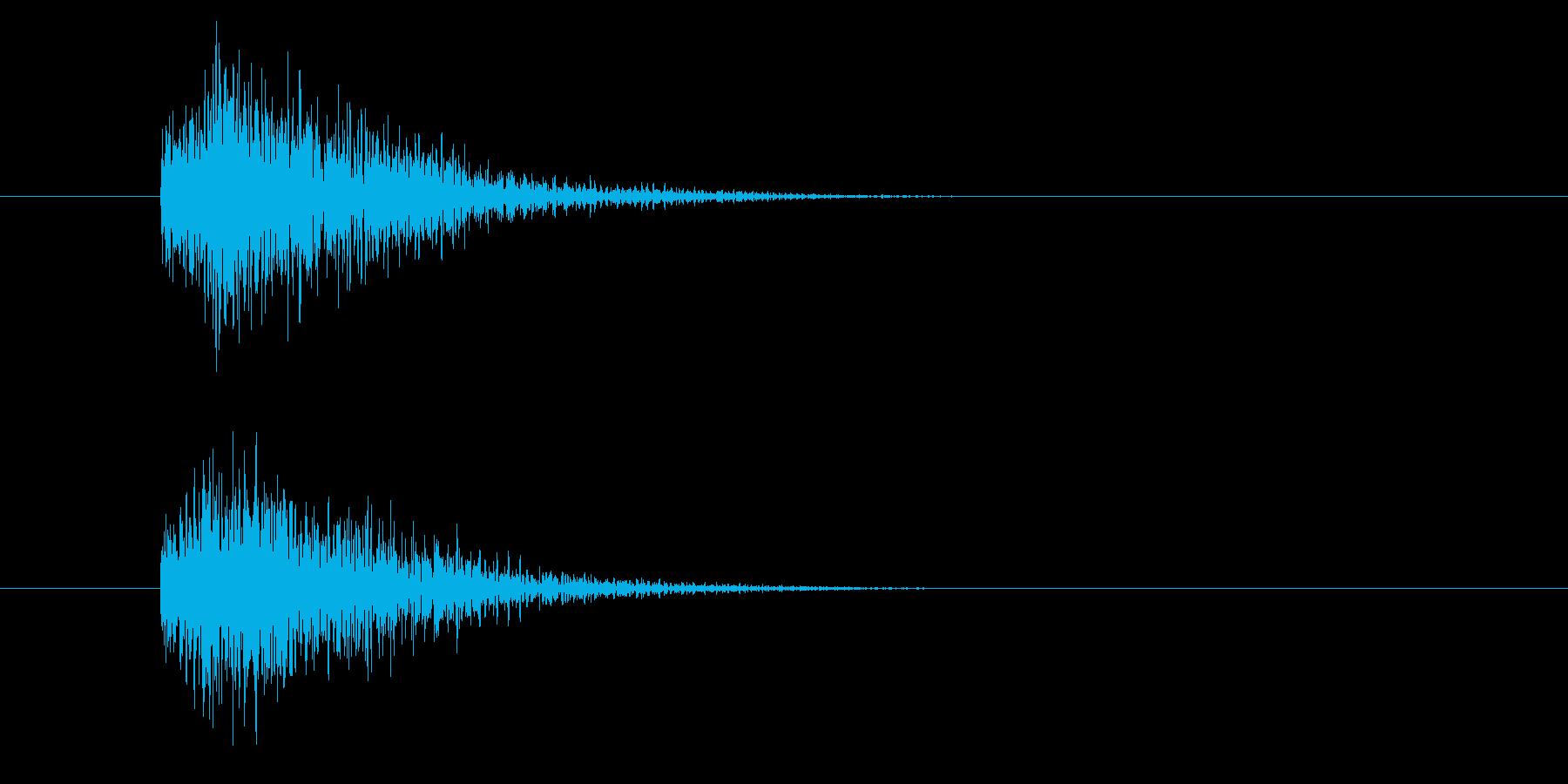 ジャン!豪華なオケヒその2_音程低めの再生済みの波形