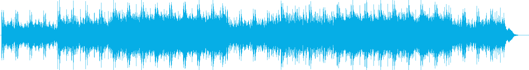 怪しいバックミュージックの再生済みの波形